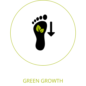 green growth icon