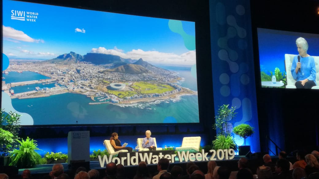 Jackie King at World Water Week 2019: Inclusive development